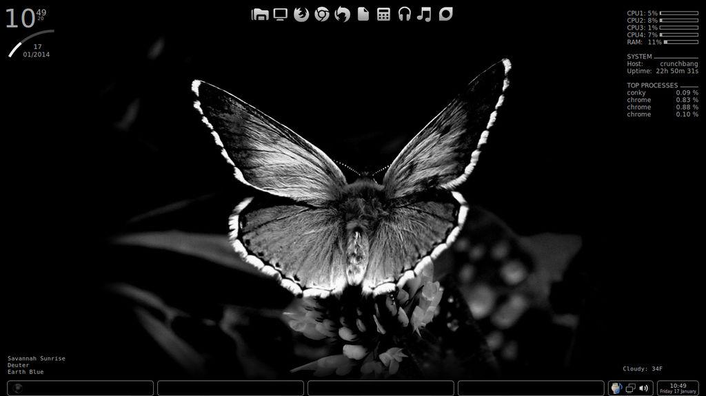 Crunchbang Linux/Fluxbox