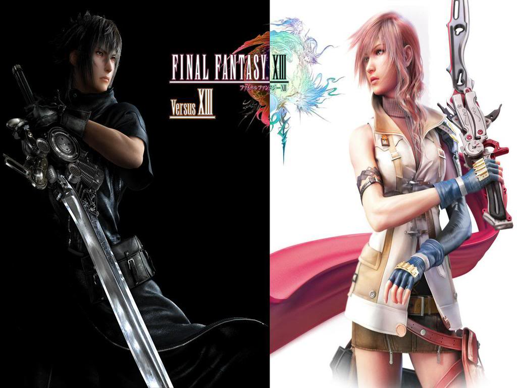 IIIX ysatnaF laniF V.S. Final Fantasy XIII by Kuraigin
