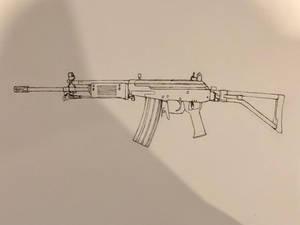 IMI Galil ARM rifle