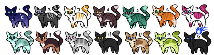 Cat Adoptable [ CLOSED ] 1-5 points.