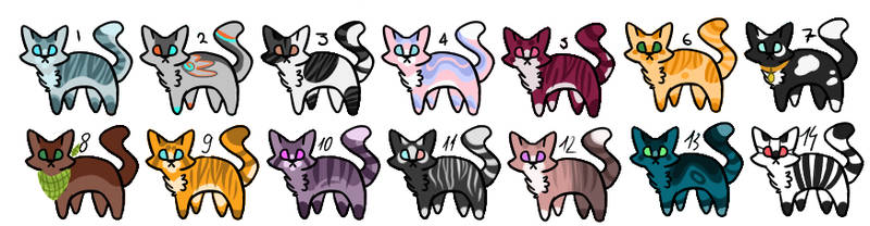 Cat Adoptable [ OPEN ] 5 points.