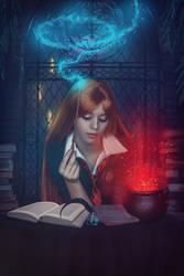 Boring homework (Harry Potter) by Shennikin