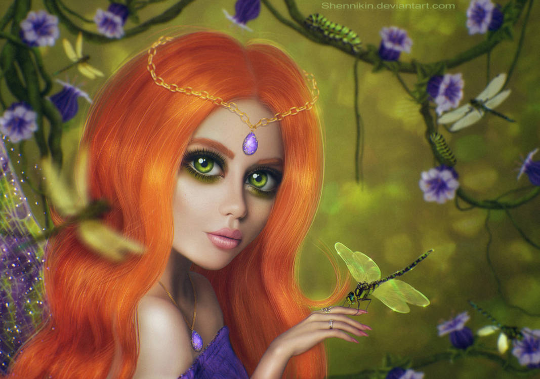 Fairy of the dragonflies