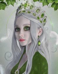 The Queen of Emerald lands