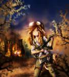 Zombie Apocalypse by NinjaTanner