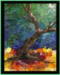 tree collage