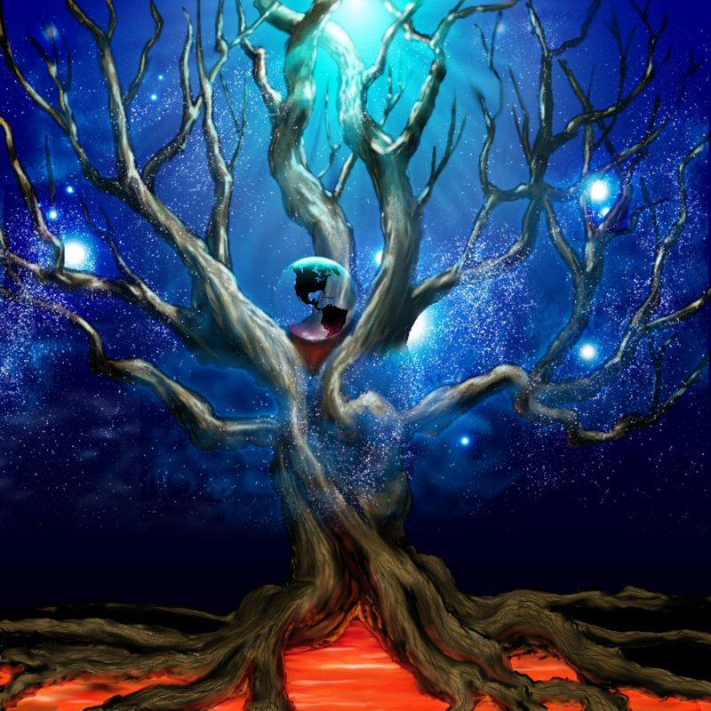 Yggdrasil Art Yggdrasil by Heterodyn...