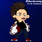 BNHA OC Murderwimp Art By ItzRubyChu