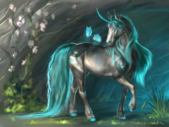 Unicorn by Diffary1