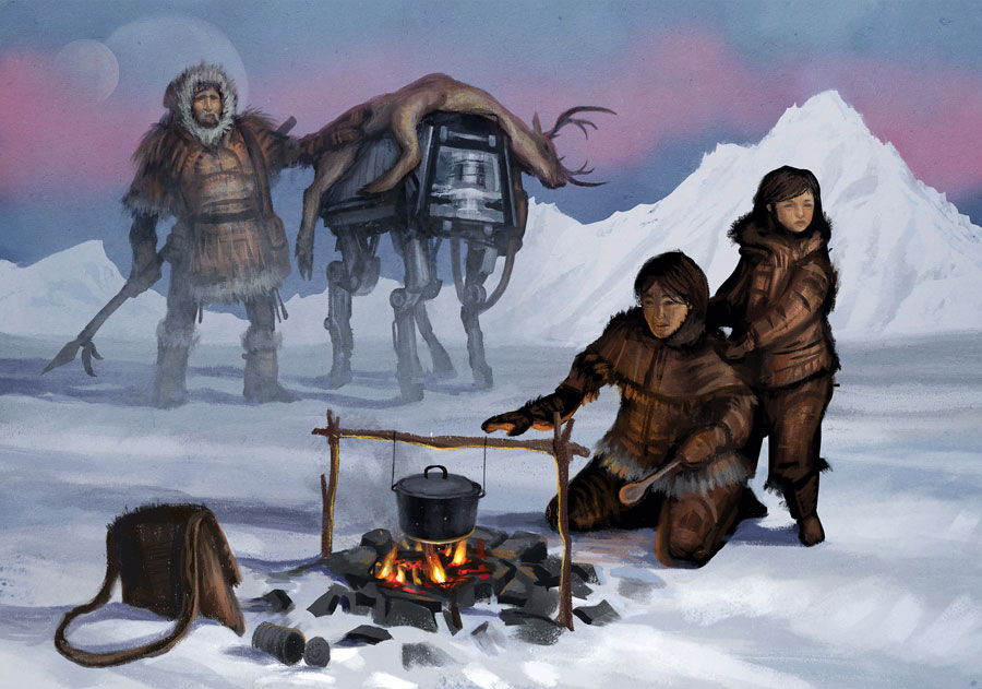 Inuit Paintings Art