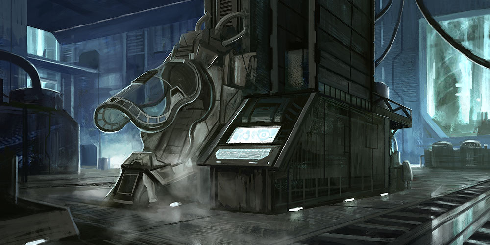 Halo Cryobay 1 by Howi3