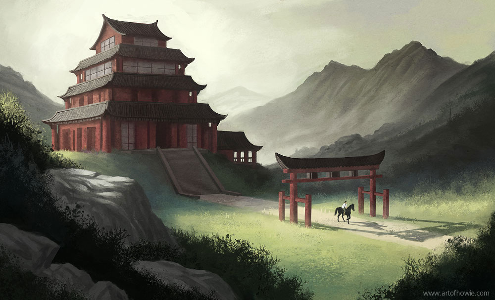 Asian Temple By Howi3