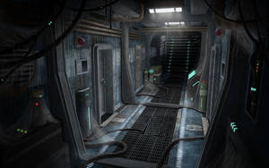 Exogenesis: Corridor01 by Howi3