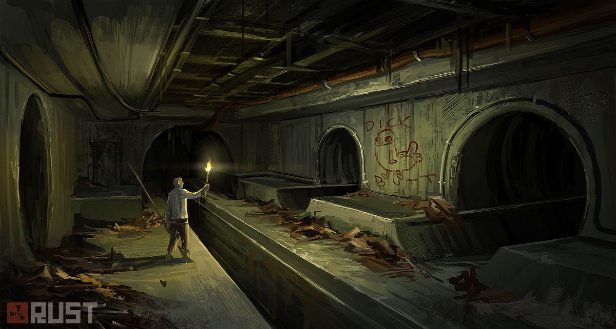 Rust - Sewers by Howi3