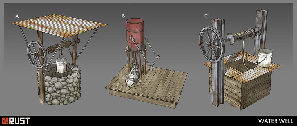 Rust - Well Sketches by Howi3