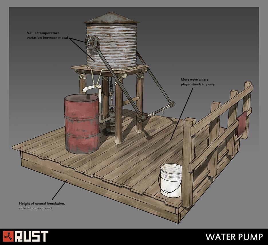 Rust - Waterpump by Howi3