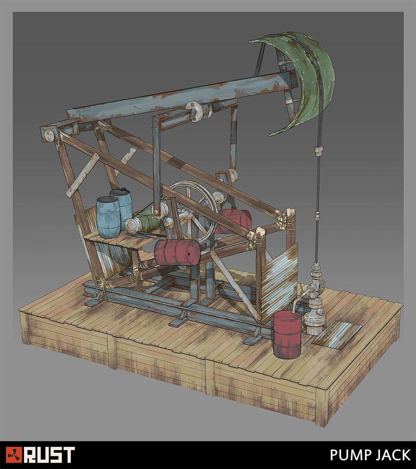 Rust - Pump Jack by Howi3