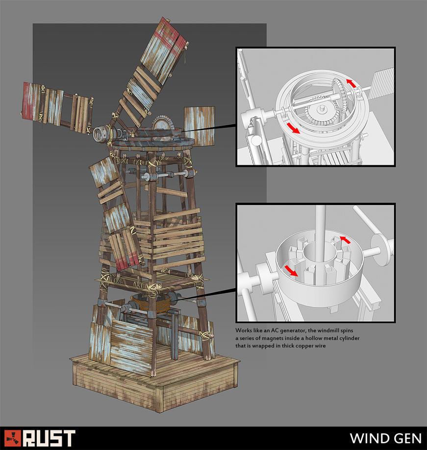 Rust - Wind Gen by Howi3
