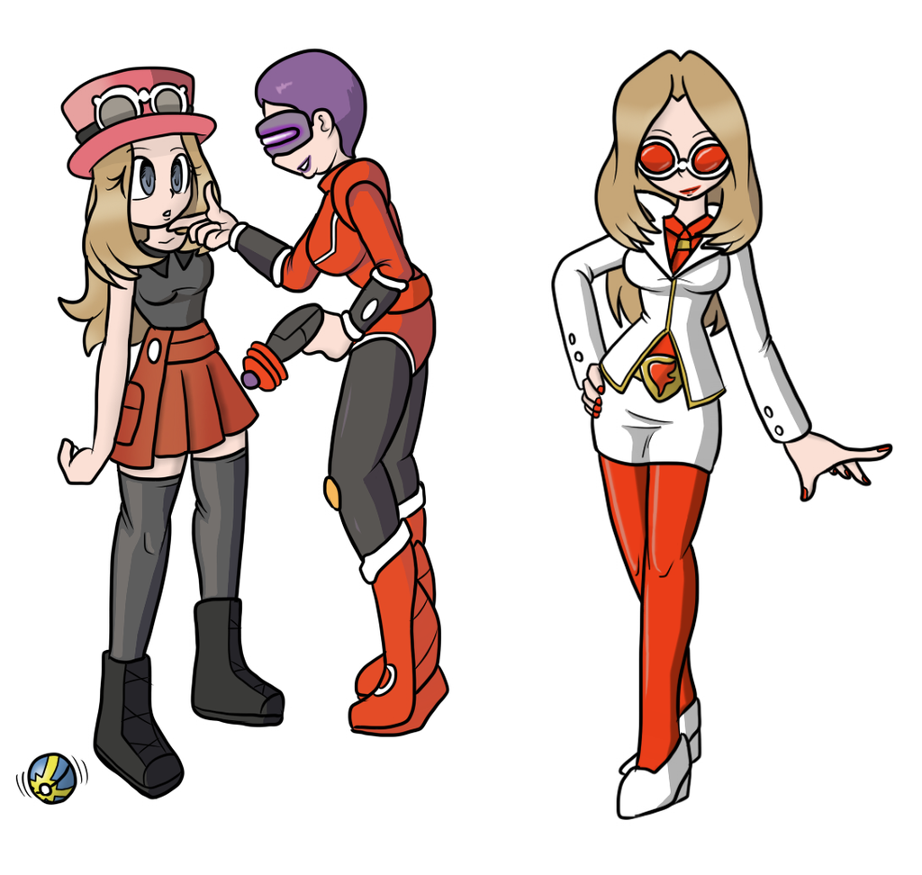 serena team flare admin recolour by chaosoverlordz on