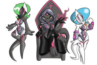 Queen Haze and Her drones by ChaosOverlordZ