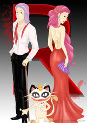 The king, the queen, the joker by RubusNessensis