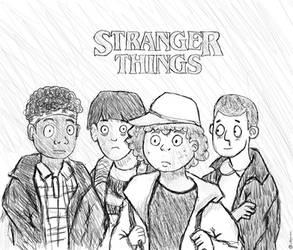 Stranger Things - The Kids