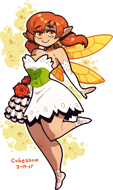 COMMISSION: Fairy Girl by Cubesona