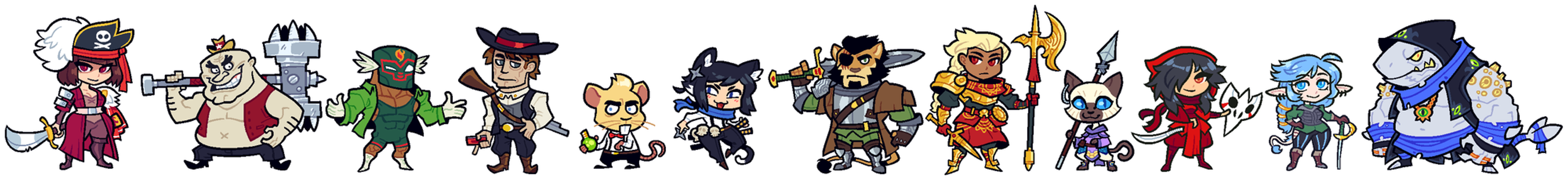 COMMISSION: DnD Group 12 by Cubesona