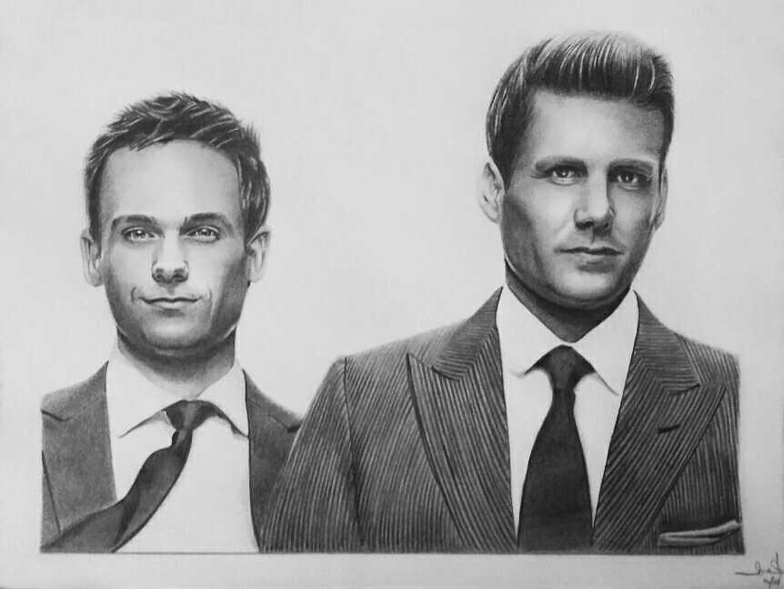 Mike Ross And Harvey Specter By 7gnehzed On DeviantArt