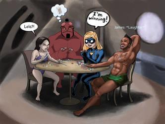 Random Crossover Poker by dAdrianArts