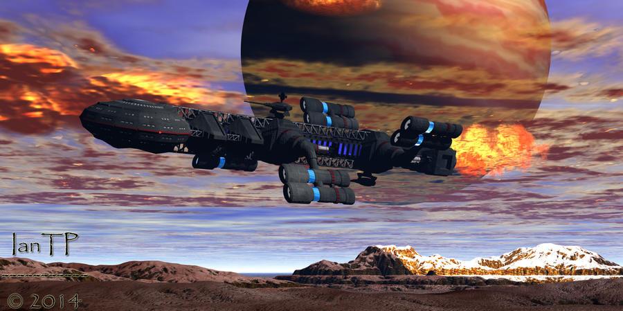 Sulfur Planet by IanTP