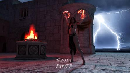 Sorceress Lyra for Gwasanee