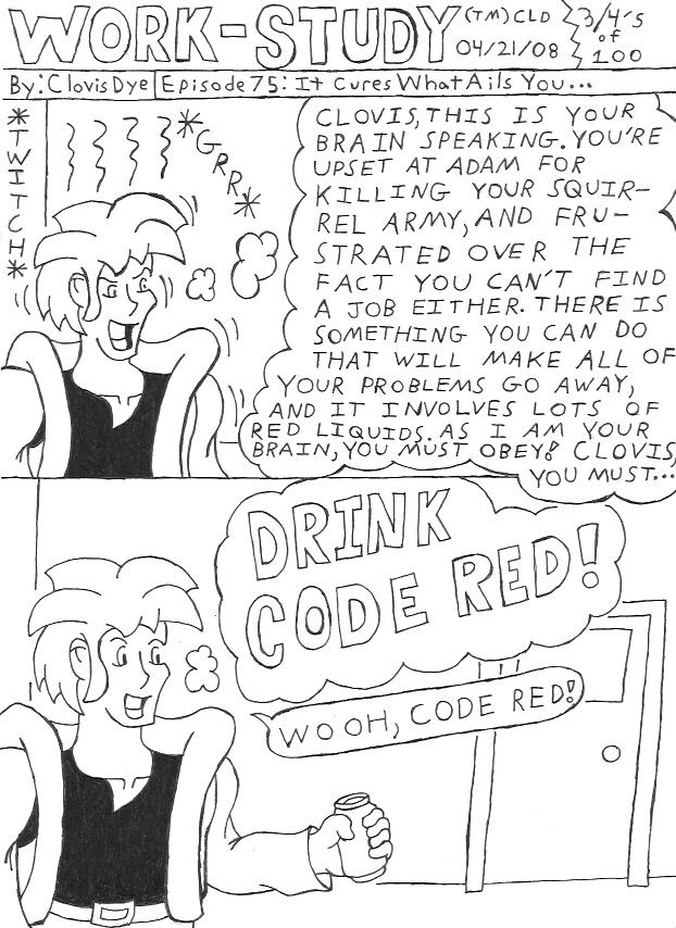 Work-Study: Episode 75 by Clovis15
