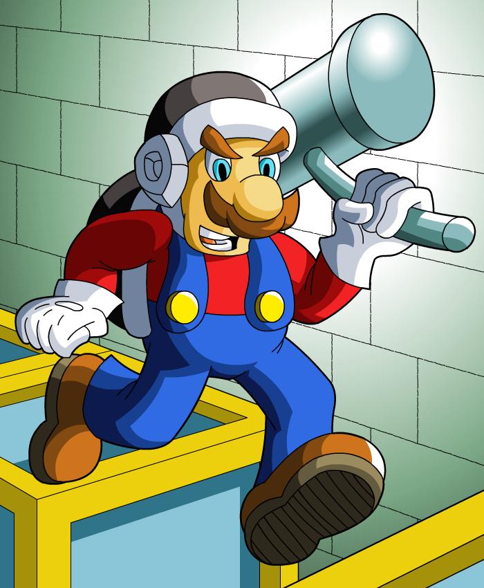 Hammer Mario: Let's-a Go by Clovis15