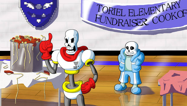 Sans and Papyrus: Helping Out...?
