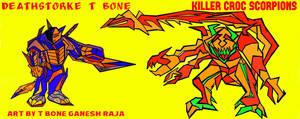 deathstorke  t bone by ganeshraja