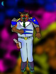 Commander Ulysses Feral by ganeshraja