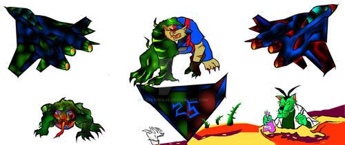 #swatkats 25 th anniversary creator based art by ganeshraja