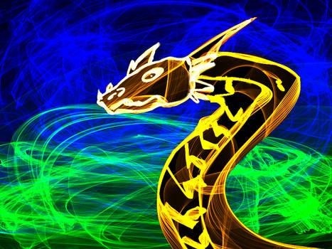 A Flame Dragon