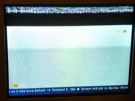 Teletext,syncronisation information in a TV signal