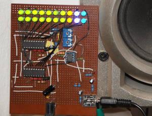 Stereo VU-Meter