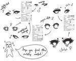 Eye Ref + sai brushes by cuteincarnate