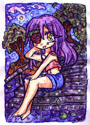 Art Fight ATK 01 | Strawberry girl Amandy