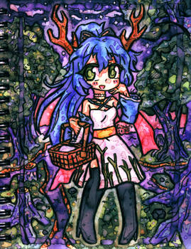 Art Fight ATK 02 | Evorynth out for a picnic~