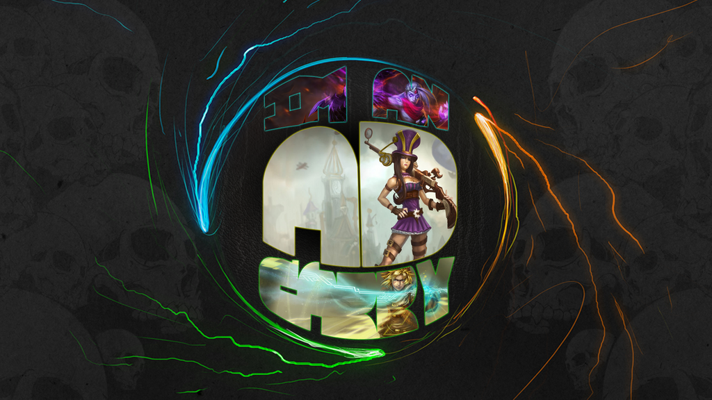 League of Legends Wallpaper. ~ AD Carry by RickFrost on ...