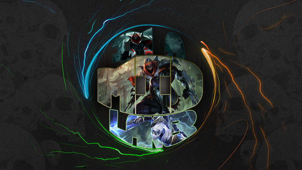 League of Legends Wallpaper. ~ MID Lane by RickFrost on ...