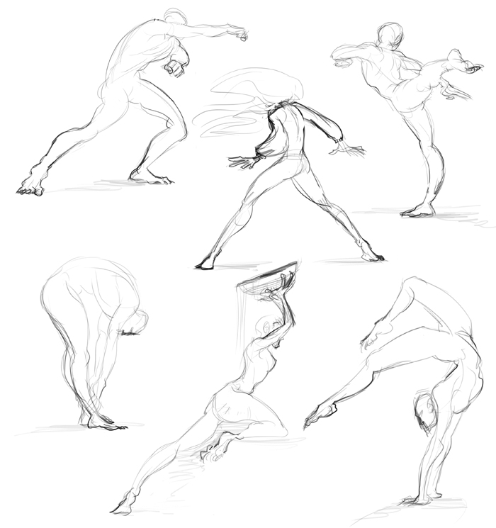 Dynamic Character Poses | www.imgkid.com - 126.8KB