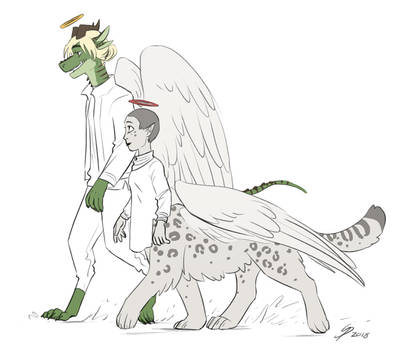Balthazar and Opal doodle