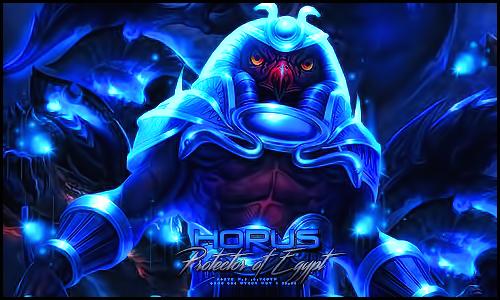 Horus by VegetaGirl0907