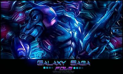 Galaxy Saga by VegetaGirl0907